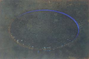 「楕円 | Ellipse」08 春 E-2-1  30cm×45cm