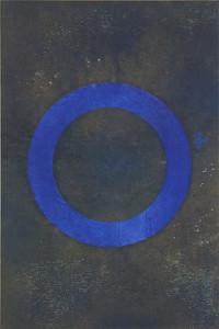 「円相 | The appearance of a circle」2010春A-I 90cm×60cm