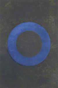 「円相 | The appearance of a circle」2010夏B-II-1  67.5×40cm