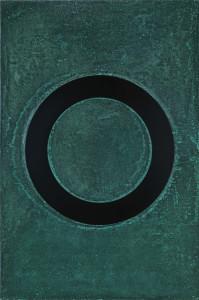 「円相 | The appearance of a circle」2011J-A-I 90cm×60cm