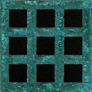 「方| Squares」2011B-I-1 10cm×10cm