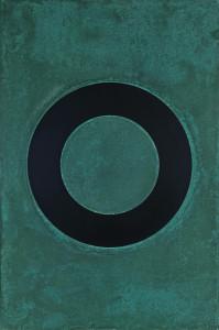 「円相 | The appearance of a circle」2011J-A-II 90cm×60cm