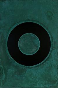 「円相 | The appearance of a circle」2011J-A-III 90cm×60cm