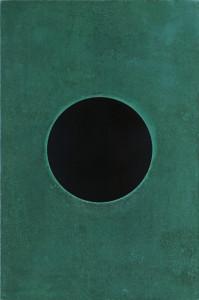 「円相 | The appearance of a circle」2011J-A-IV 90cm×60cm