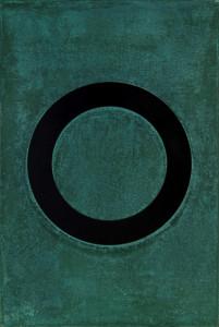 「円相 | The appearance of a circle」2011J-B-I 45cm×67.5cm