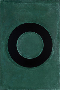 「円相 | The appearance of a circle」2011J-B-II 45cm×67.5cm