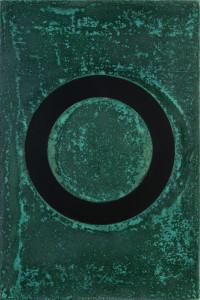 「円相 | The appearance of a circle」2011J-C-I 30cm×45cm