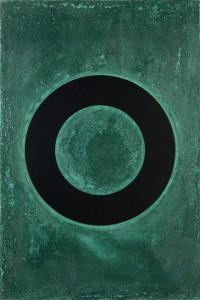 「円相 | The appearance of a circle」2011J-C-II 30cm×45cm