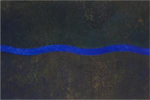 A wave Autumn B-IV 45cm×67.5cm×3.7cm